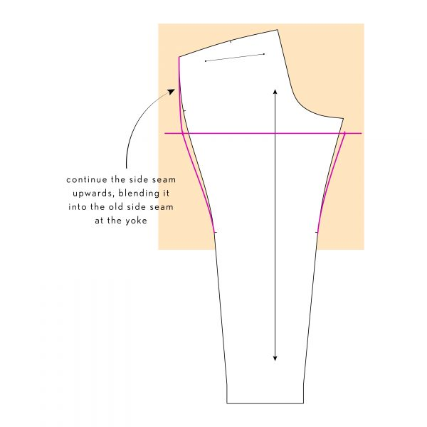 How to: Widen the Thigh on Lisbeth Pants